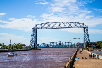 Duluth drawbridge